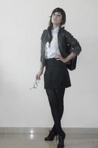 shirt - jacket - skirt - shoes