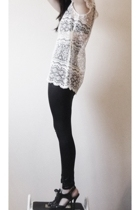 fete des morts dress - American Apparel leggings
