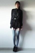 dress - shoes - Zara socks - accessories