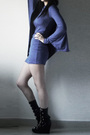 Blue-miss-mars-dress-black-boots