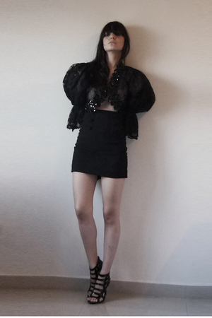 fete des morts vintage coat - skirt - shoes