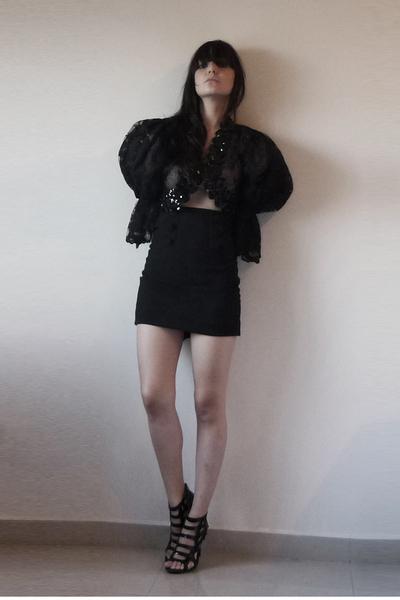 fete des morts vintage coat - skirt - shoes