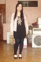 giordano jacket - Topshop top - Dorothy Perkins leggings - HK shoes