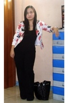 --- blazer - bosini intimate - h&m via thrift town pants - lunaheel from korea s