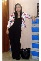 --- blazer - bosini intimate - h&m via thrift town pants - lunaheel from korea s