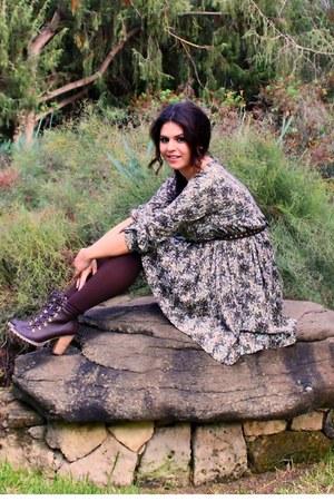 Calzedonia panties - BLANCO boots - H&M vest