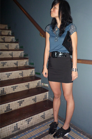 Topshop top - supre skirt - online shoes