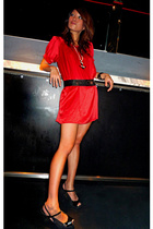 forever 21 dress - Charles & Keith shoes