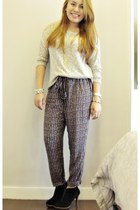 Forever 21 pants - Forever 21 top