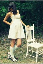 pink Presh dress - gray Target socks - beige Steve Madden shoes - gray Urban Out