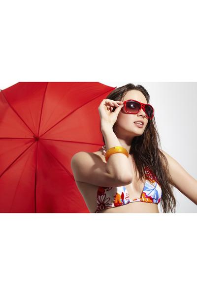 bracelet - sunglasses - bra