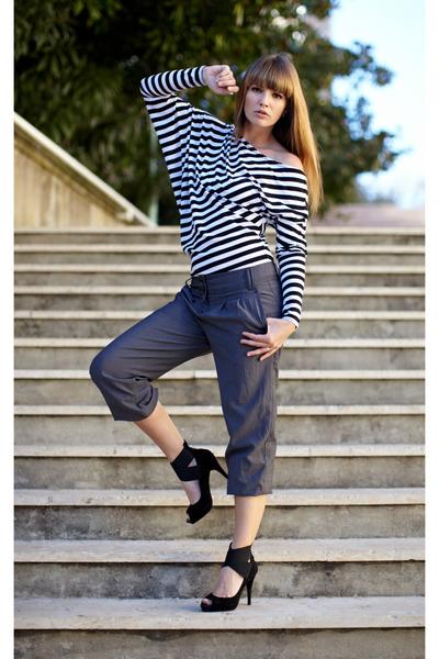 heels - top - pants