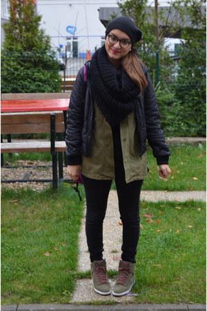Zara jacket - met jeans - nike sneakers