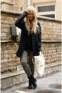 Black-forever-21-boots-dark-gray-cocoon-topshop-coat