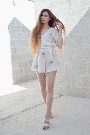 sammydress romper - Laura Biagiotti heels