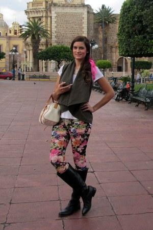 floral H&M leggings