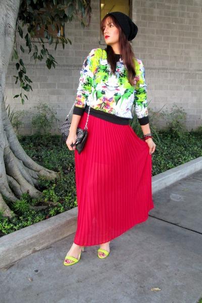 Prabal Gurung for Target sweater - Aldo bag - Forever 21 skirt
