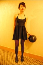 American Apparel dress - American Apparel tights - Topshop shoes - Felicity acce