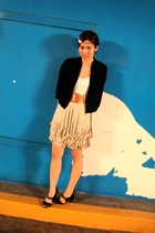 Uniqlo jacket - Urban Outfitters shirt - Store for all Seasons skirt - vintage b