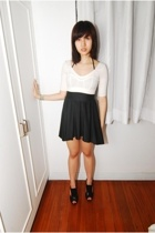 Stella McCartney for Adidas top - American Apparel dress - Nine West shoes - Top