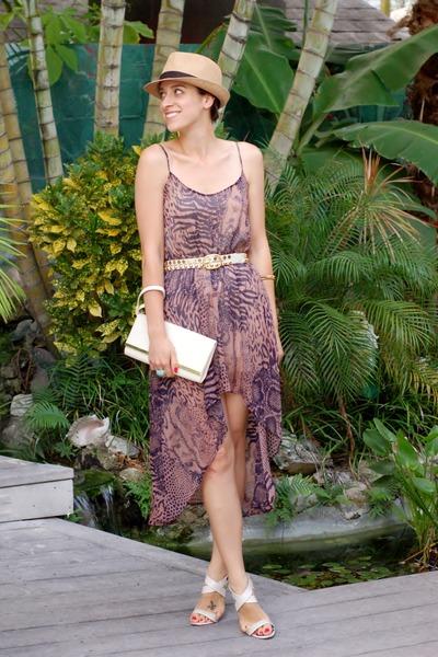 ivory River Island bag - light brown urban original dress