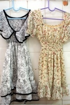 New dresses.
