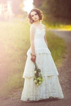 white lace Fabled and True dress