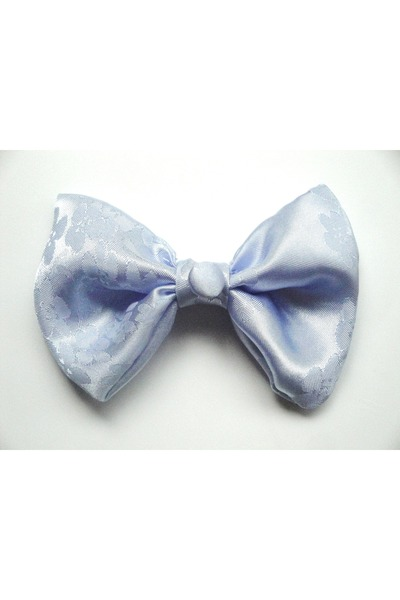 light blue hair bow Roks accessories