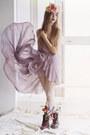 Light-purple-chifon-unknown-dress