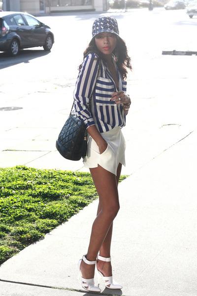 stripe shirt Comme ca blouse