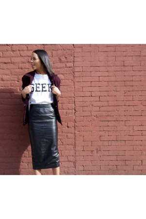 summer leather Jake Too skirt