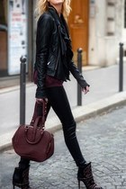 dark purple Comme ca bag
