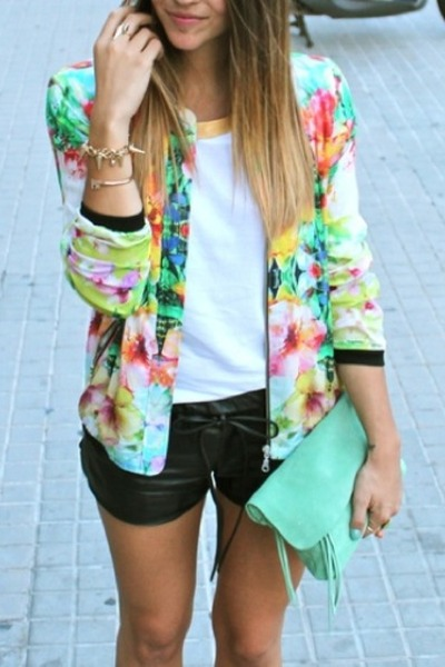 print blazer unknown brand blazer