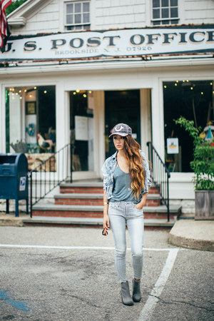 True Religion jeans - Jeffrey Campbell boots - True Religion hat