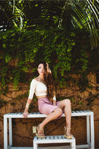 Kendra Scott bracelet - Rachel Pally top - Rachel Pally skirt