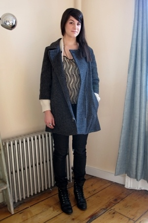 Opening Ceremony coat - steven alan - Cheap Monday jeans - lyell shirt - vintage