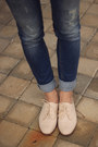 Neutral-zara-shoes-sky-blue-pull-bear-jeans-light-pink-h-m-blouse