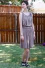 Light-brown-dress