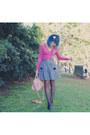 Black-oxford-tights-light-pink-bag-black-alchemy-heels-charcoal-gray-strip