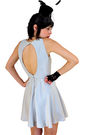 Silver-vintage-1980s-silver-open-back-cut-out-dress