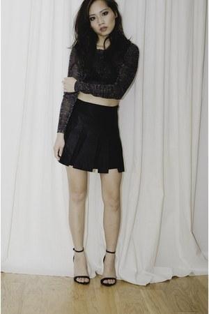 Chan Luu top - Zara skirt - Zara heels