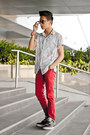 Armani-exchange-shirt-ray-ban-sunglasses-jordan-air-3-nike-sneakers