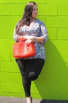 Furla purse - Target pants - TJ Maxx top