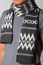 gray FRESHJIVE scarf