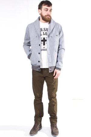 heather gray GPPR jacket