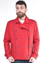 red GPPR jacket