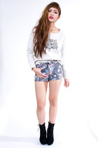 Heather-gray-shorts