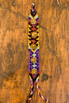 Deep Purple Bracelets