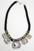 Silver-number-a-necklace