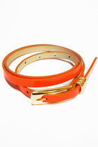 orange Number A belt